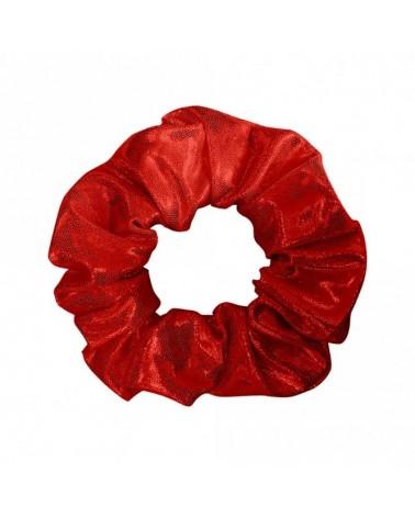 Chouchou Lycra Poudré Cherry Red